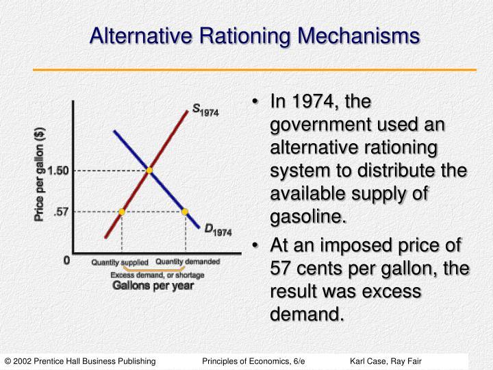 Alternative Rationing Mechanisms