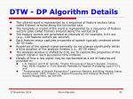 dtw dp algorithm details1