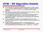 dtw dp algorithm details6