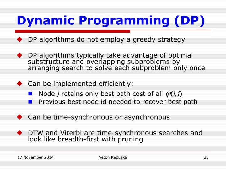 Dynamic Programming (DP)