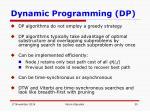 dynamic programming dp
