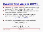 dynamic time warping dtw