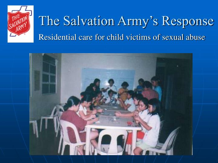 The Salvation Army's Response