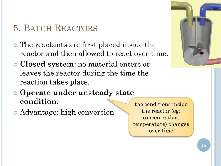 5. Batch Reactors