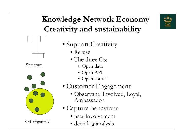 Knowledge Network Economy