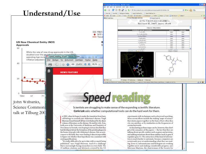 Understand/Use