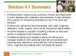 section 4 1 summary