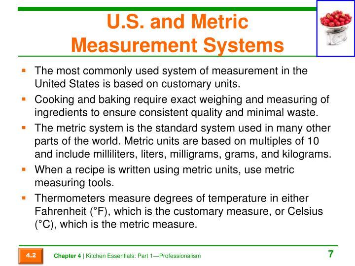 U.S. and Metric