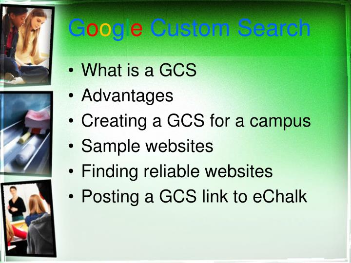 G o o g l e custom search1