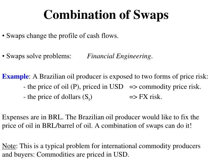 Combination of Swaps