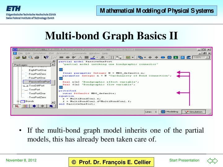 Multi-bond Graph Basics II
