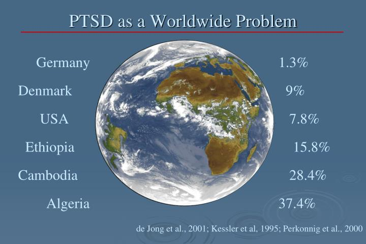PTSD as a Worldwide Problem