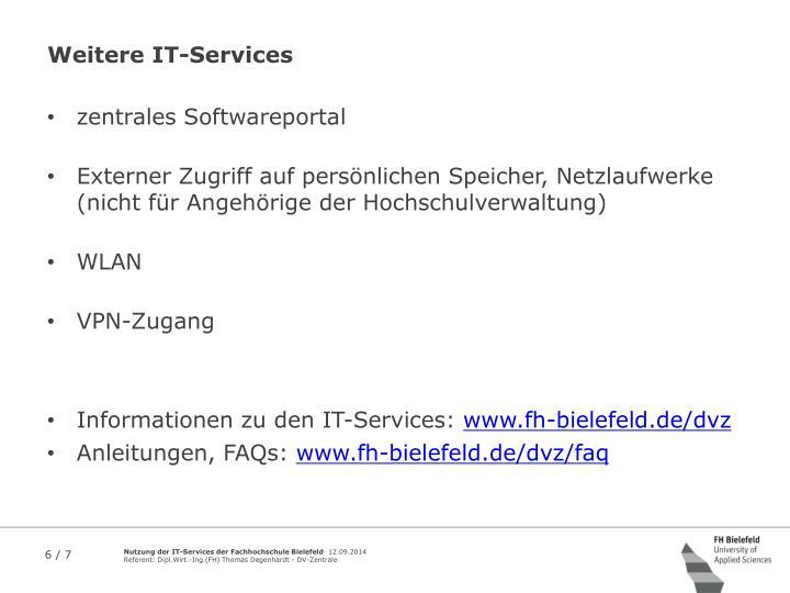 Weitere IT-Services