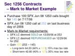 sec 1256 contracts mark to market example1