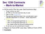 sec 1256 contracts mark to market