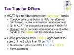 tax tips for diyers2
