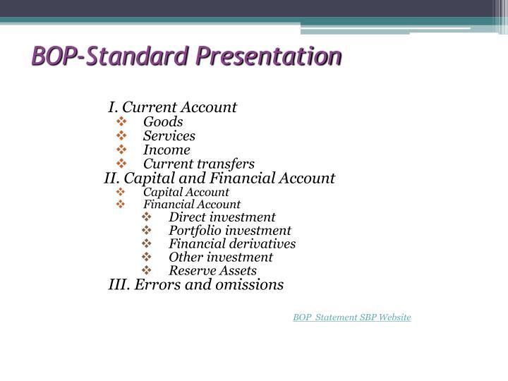 BOP-Standard Presentation