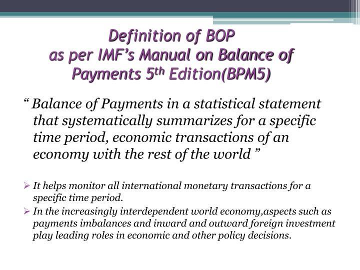 Definition of BOP