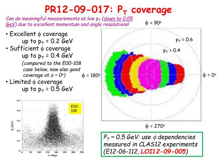 PR12-09-017: P