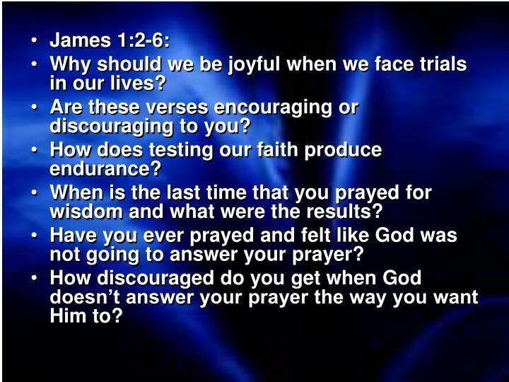 James 1:2-6: