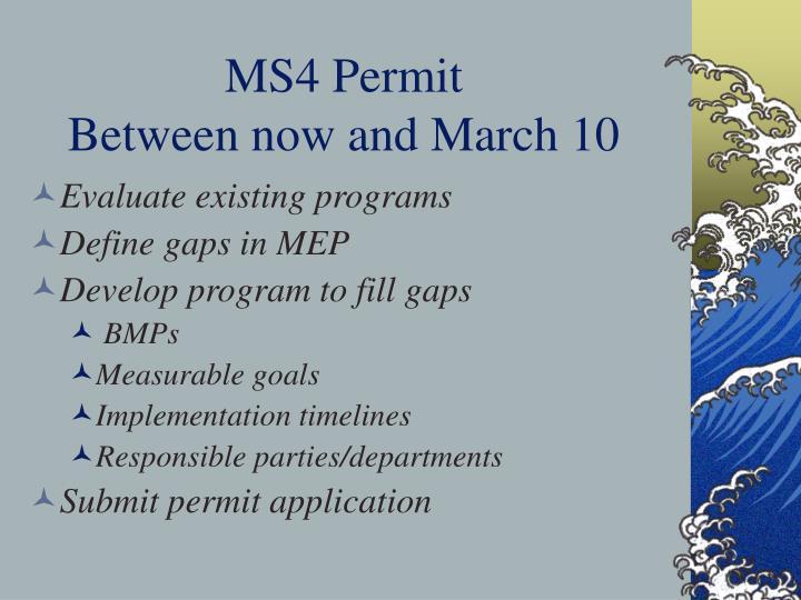 MS4 Permit