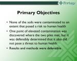 primary objectives1
