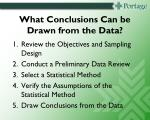 what conclusions can be drawn from the data