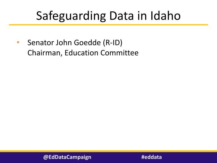 Safeguarding Data in Idaho
