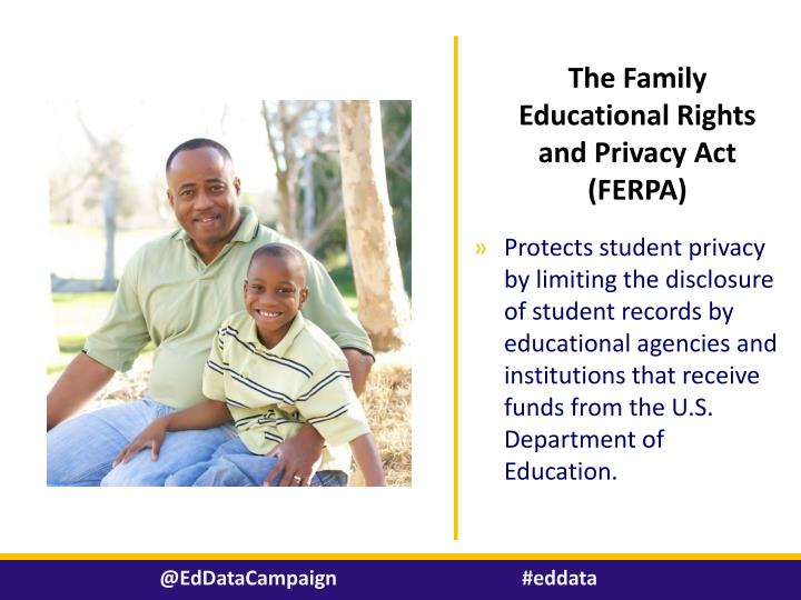 The Family Educational Rights and Privacy Act (FERPA