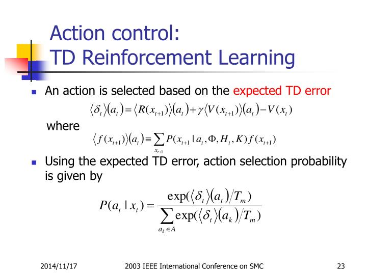Action control: