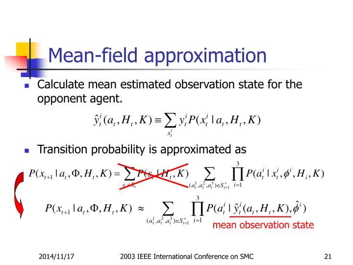 mean observation state
