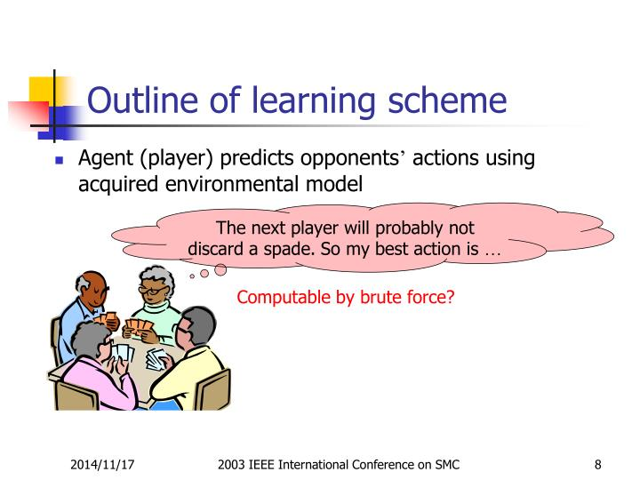 Outline of learning scheme