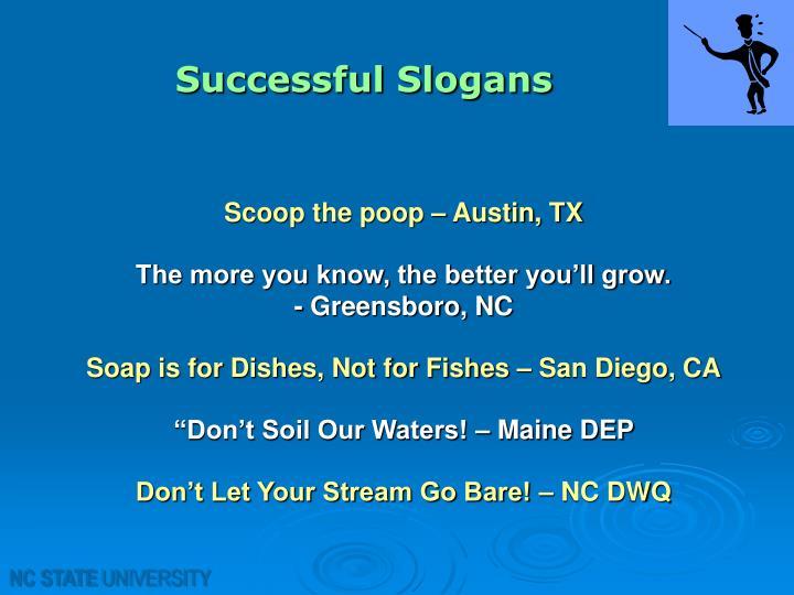 Successful Slogans