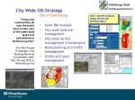 city wide gis strategy