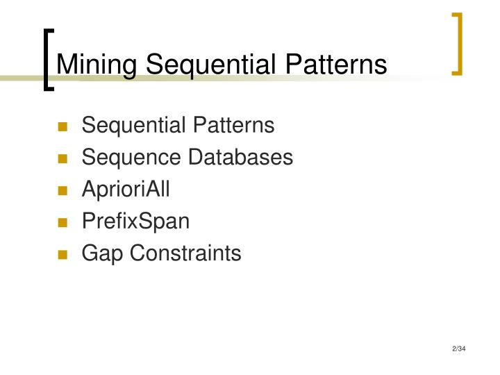 Mining sequential patterns