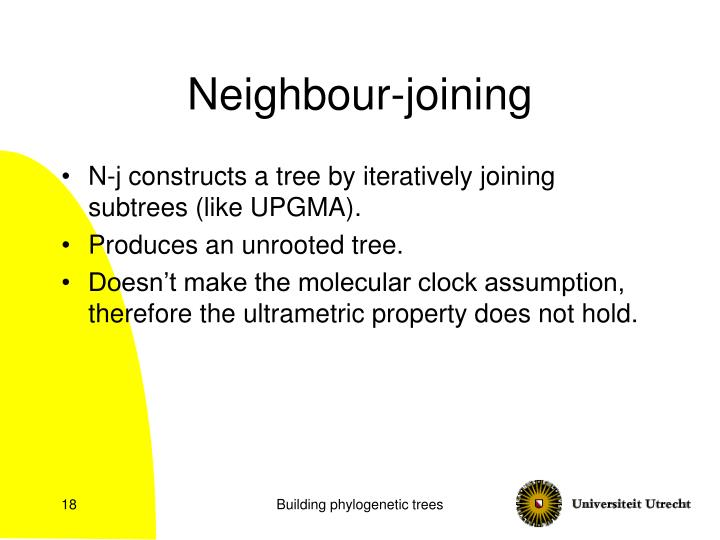 Neighbour-joining