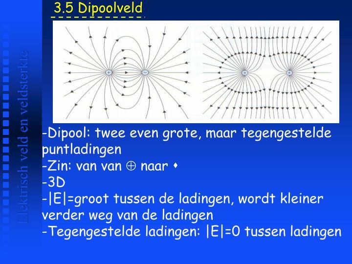 3.5 Dipoolveld