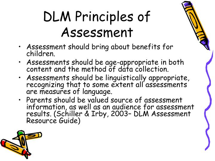 DLM Principles of Assessment
