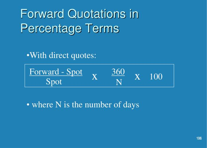 Forward - Spot