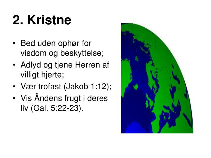 2. Kristne