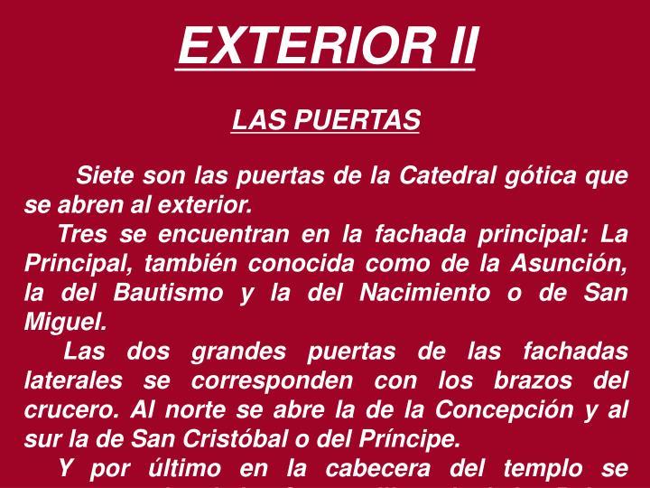 EXTERIOR II