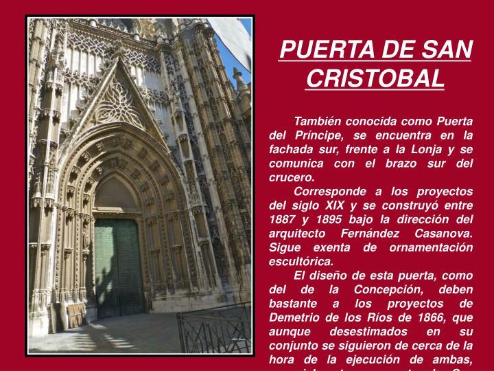 PUERTA DE SAN CRISTOBAL