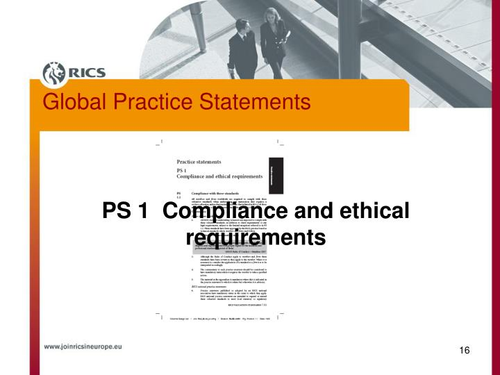 Global Practice Statements
