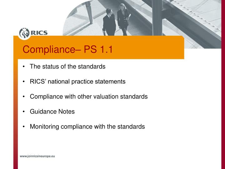 The status of the standards