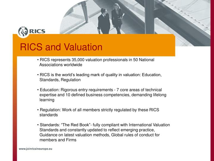 RICS and Valuation