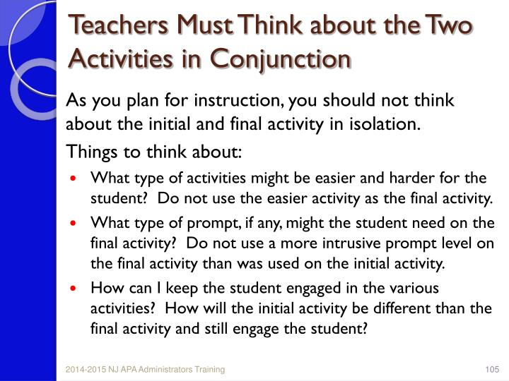 Teachers Must