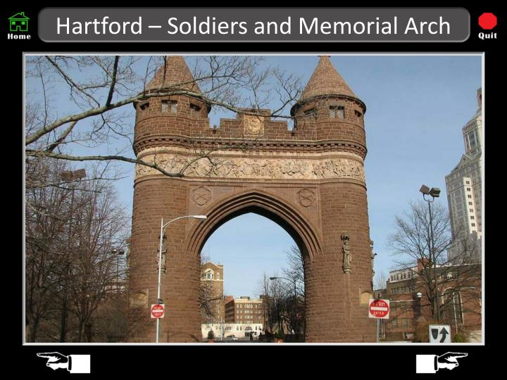 Hartford – Soldiers and Memorial Arch