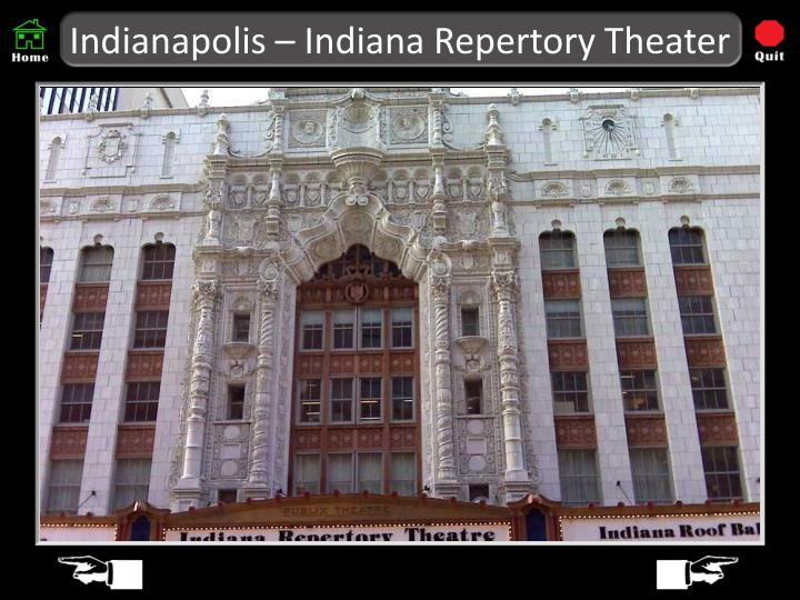 Indianapolis – Indiana Repertory Theater