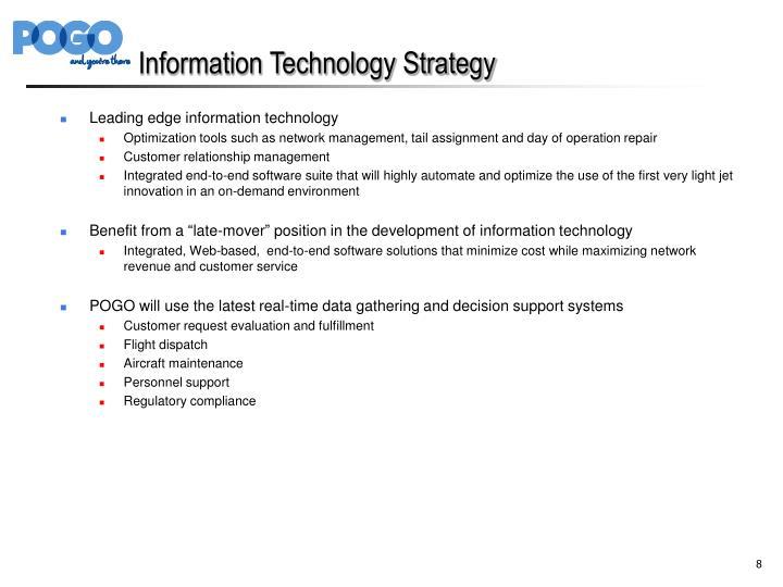 Information Technology Strategy