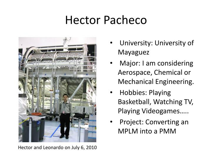 Hector Pacheco